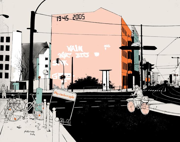 Evan Hecox, Ghosts of Winter, Berlin Print, 2008 | Arkitip ...