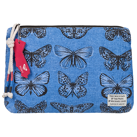 Butterfly Zipper Pouch by Michael Leon Curated by Arkitip